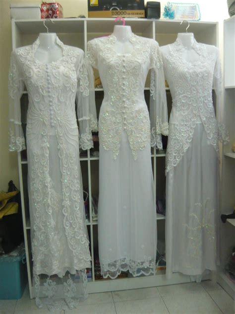 Baju Nikah Putih Hijau hidup sekali biar bererti putih itu suci