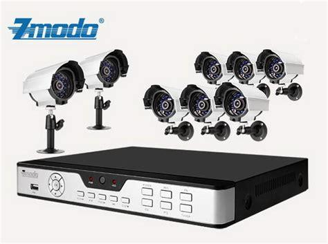 zmodo 8ch dvr recorder security surveillance with 8 cctv