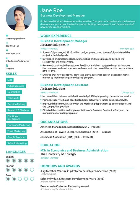Professional Resume Layout by 2018 Professional Resume Templates As They Should Be 8