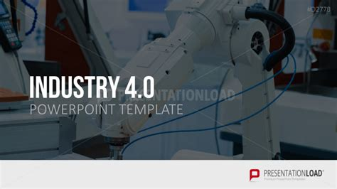 industrial revolution powerpoint template presentationload industry 4 0
