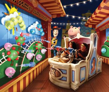 tips for riding toy story mania! at hollywood studios
