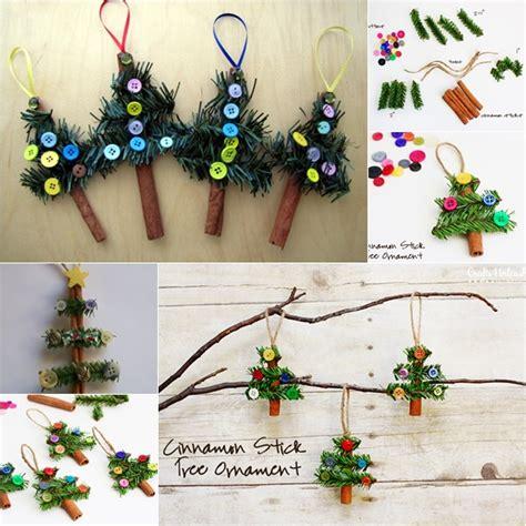 diy tree ornaments crafts the diy cinnamon stick tree ornaments