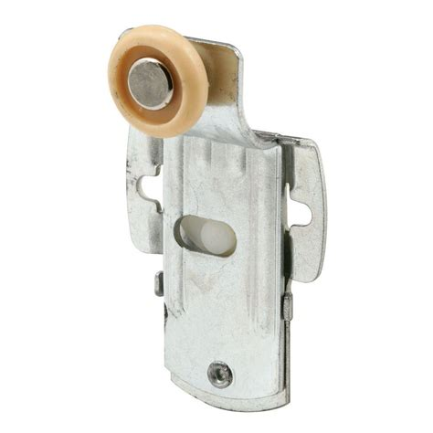 Closet Door Wheels Prime Line Closet Door Roller Back 1 2 In Offset 3 4 In Wheel 1 5 8 In X 2 7 8 In