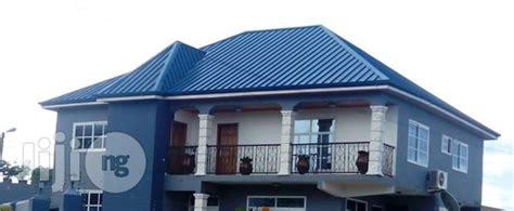 aluminium long span roofing sheet  ikeja building