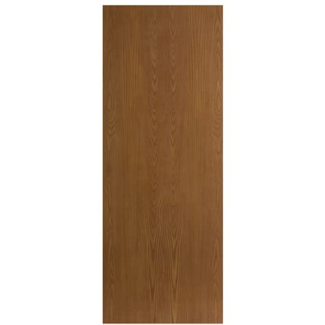 Interior Slab Doors Shop Reliabilt Flush Hollow Non Bored Interior Slab Door Common 32 In X 80 In Actual 32