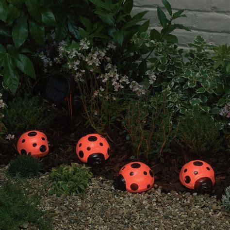 Ladybug Solar Lights Ladybugs With Solar Lights Solar Garden Decor