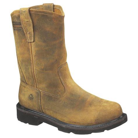 wellington steel toe boots s wolverine 174 10 quot saturn steel toe electrical hazard