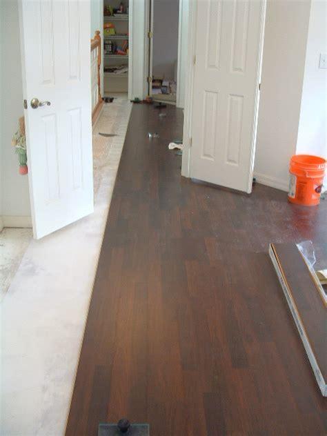 Laminate Flooring: Hallway Laminate Flooring Installation