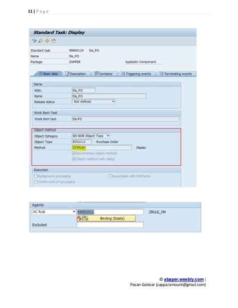 sap workflow assignment sap po workflow 28 images sap workflow po create