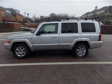 how things work cars 2007 jeep commander parking system sell used 2007 jeep commander limited in 969 n range line rd carmel indiana united states