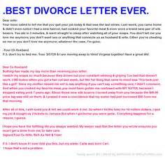 Divorce Letter To Husband 1000 Images About Bah Ha Ha Ha Ha On Lmfao And Hilarious