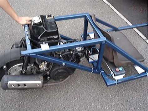 Modifikasi Vespa Gokart by Diy Go Kart Trike