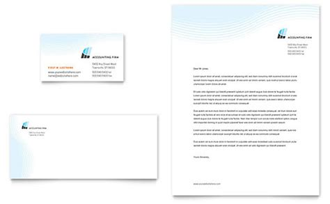 financial services letterheads templates designs