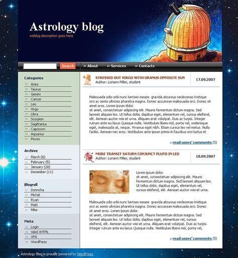 templates for astrology website astrology wordpress theme web design templates website