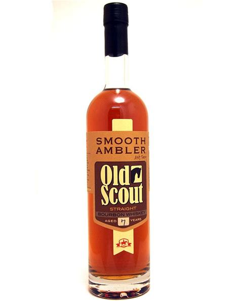 smooth ambler old scout bourbon smooth ambler old scout