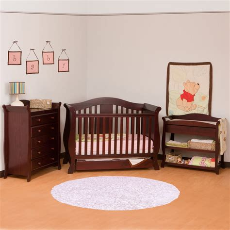 Cherry Wood Baby Crib Cherry Wood Crib With Changing Table Sets Optimizing Home Decor Ideas Best Cherry Wood Crib