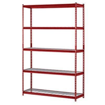 walmart garage shelving rack 5 shelf steel garage storage wire shelving unit walmart