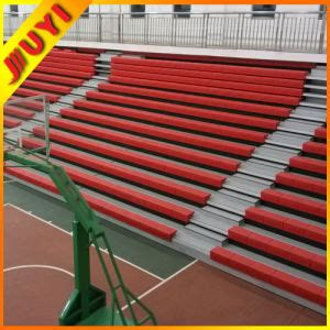 basketball bench chairs china factory telescopic seating system cheap plastic bench chair basketball sports