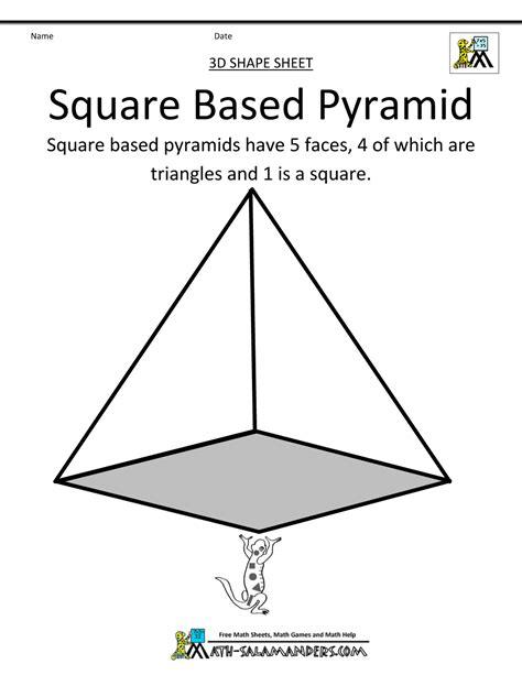 printable math worksheets volume of pyramid math pyramid worksheet b math pyramid worksheets