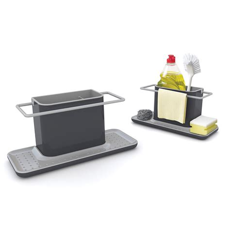 Sink Organizer by Buy Joseph Joseph Caddy Sink Organiser Grey Amara