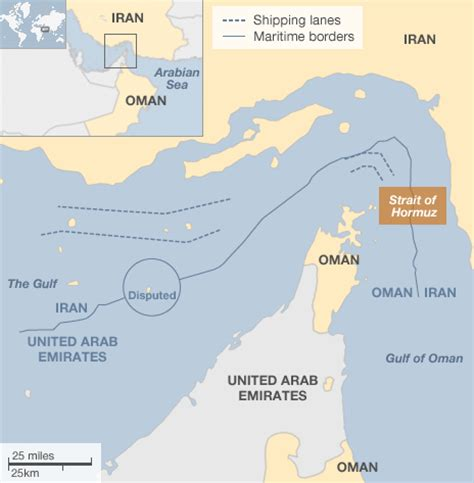 middle east map strait of hormuz analysis how would iran respond to an israeli attack