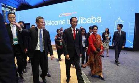alibaba group adalah miliarder china jack ma diangkat jadi penasehat ekonomi jokowi
