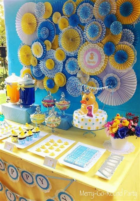 Rubber Duck Decorations by Baby Shower Food Ideas Baby Shower Ideas Rubber Ducky Theme