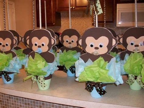 monkey baby shower ideas pin by wittrock on baby shower