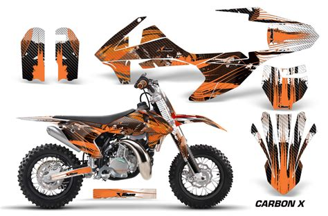 Ktm 50 Parts Uk Amr Racing Ktm Sx50 Graphics Kit Wrap Bike Decal Sticker