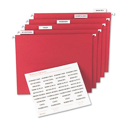 Avery 11136 Tabs Inserts For Hanging File Folders Avery Worksaver Tab Inserts 11136 Template
