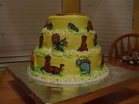 Scooby Doo Baby Shower Decorations by Scooby Doo Baby Shower Cakes Buttercream Icing Figures