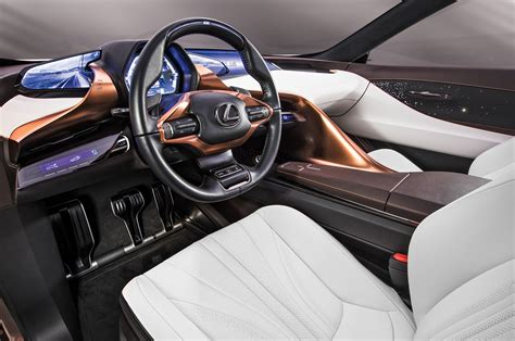 lexus lf fc interior lexus lf 1 concept suv exclusive first look reshaping the