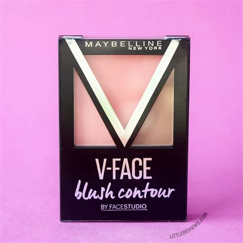 Maybelline V Blush Contour maybelline v blush contour by studio review