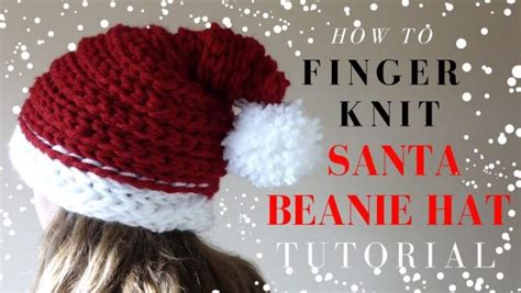 how to finger knit a hat how to finger knit a beanie hat diy ted s