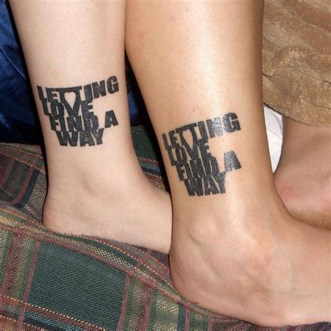 bf and gf tattoos boyfriend relationship matching tattoos