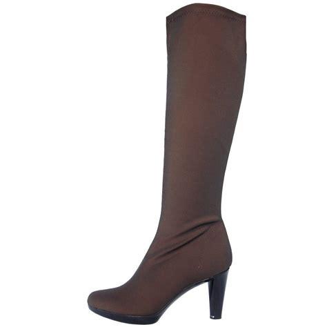 stretch boots nr rapisardi 2255 knee high high heel stretch boots in