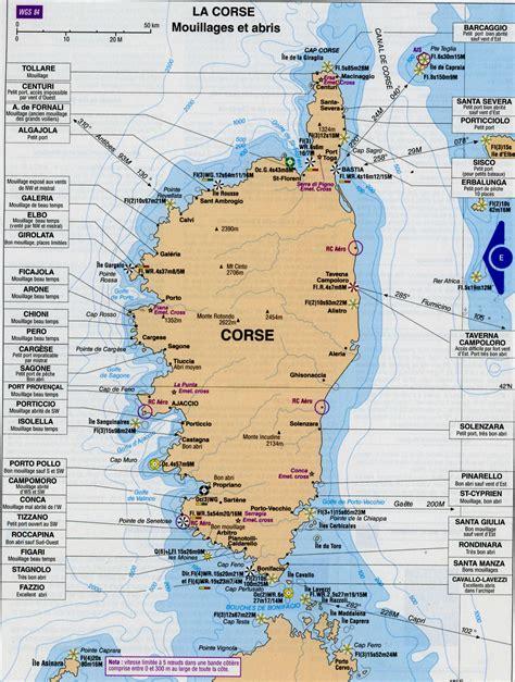 la carte et le 2081365456 carte de la corse corse cartes des villes reliefs sites touristisques