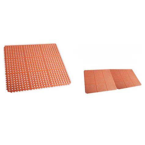 alfombra de caucho color terracota  aceites  grasas  cocinas