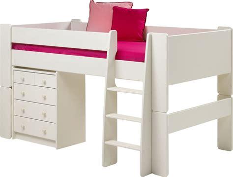 steens for white mid sleeper mattress 2 3 chest