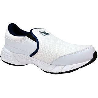 allen cooper sports shoes allen cooper mens white slip on running shoes