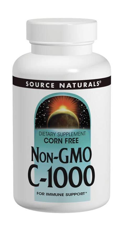 supplement source c source naturals c 1000 corn free non gmo 1000 mg 120