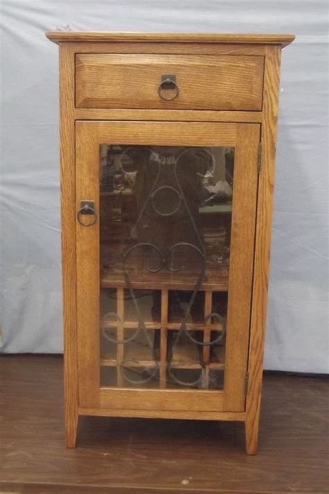 made decorative wine cabinet by ziegler woodwork and