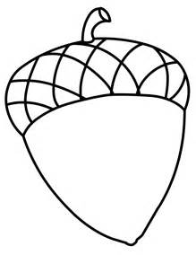 Acorn Coloring Pages Images &amp Pictures  Becuo sketch template