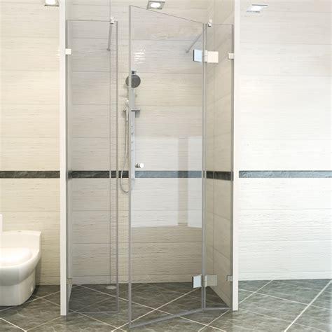 bodengleiche dusche mit wegklappbaren glast ren fishzero glast r dusche kalk verschiedene design