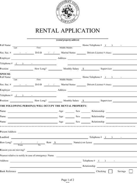 house rental application download rental application templates for free formtemplate