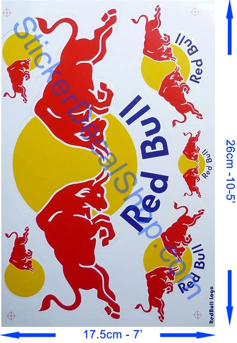 Red Bull Energy Aufkleber by Red Bull F1 Sticker Red Bull Stickers Decal Pinterest