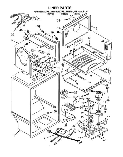 cool kitchenaid refrigerator wiring diagram images electrical