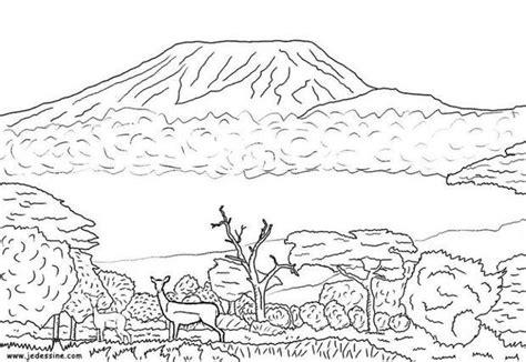 coloring pages desert landscape desert landscape coloring pages volcano panda grig3 org