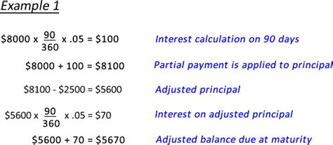 Mba Calculate Percent Of Repeat Business Principle calculate a partial payment on a simple interest loan
