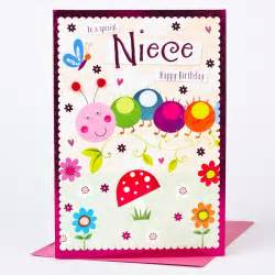 birthday card niece friendly caterpillar only 163 1 49